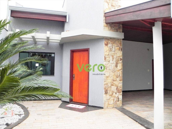 Casa Com 3 Dormitórios Para Alugar, 190 M² Por R$ 2.800,00/mês - Jardim Ipiranga - Americana/sp - Ca0144