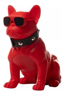 Bocina Bluetooth En Forma De Perro Bulldog Auxiliar Sd