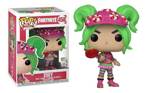 Muñeco Funko Pop Fortnite Zoey 458 Original!!