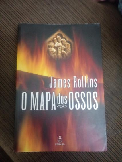 Livro O Mapa Dos Ossos - James Rollins