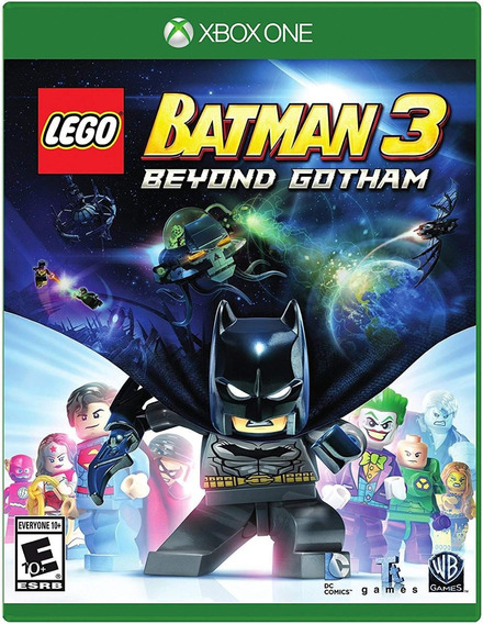 Lego Batman 3 Beyond Gotham Xbox One Mídia Física Novo
