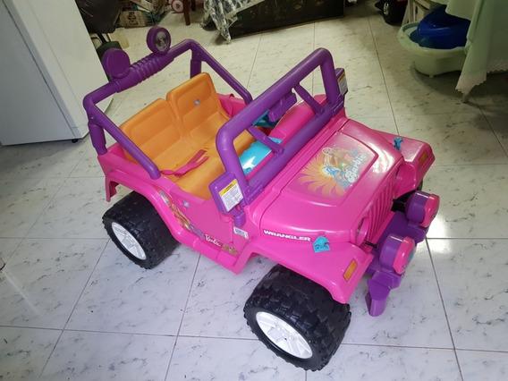 Carro Electrico Para Niñas Jeep Barbie