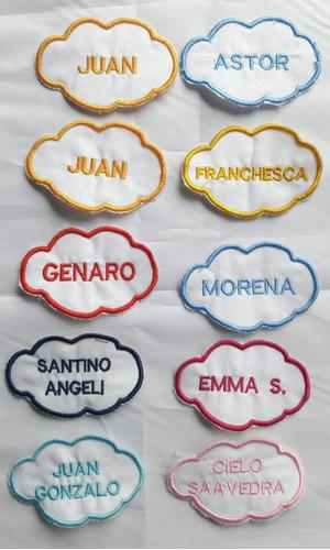 Parches - Etiquetas Escolares X 4 Unid. Personalizados