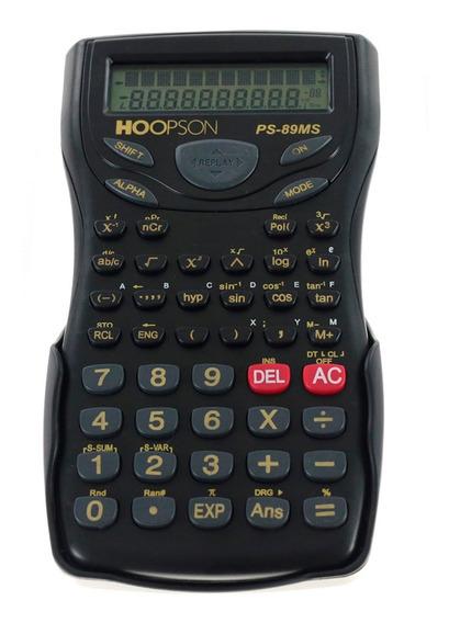 Calculadora Cientifica Hoopson Ps-89ms 12 Dig. 240 Funções