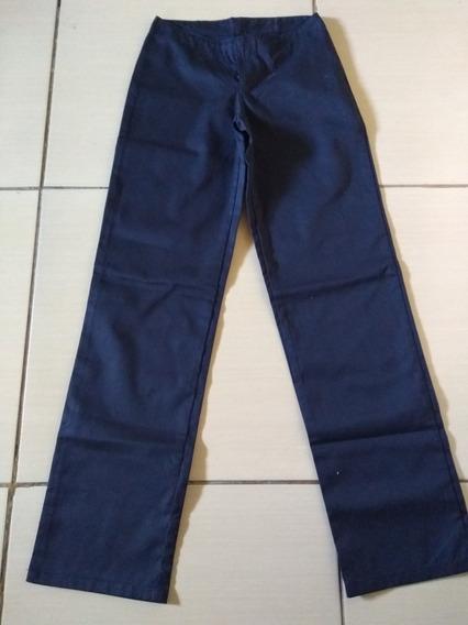 Calças Para Trabalho Muito Boa Calças Azul Promoção Linda