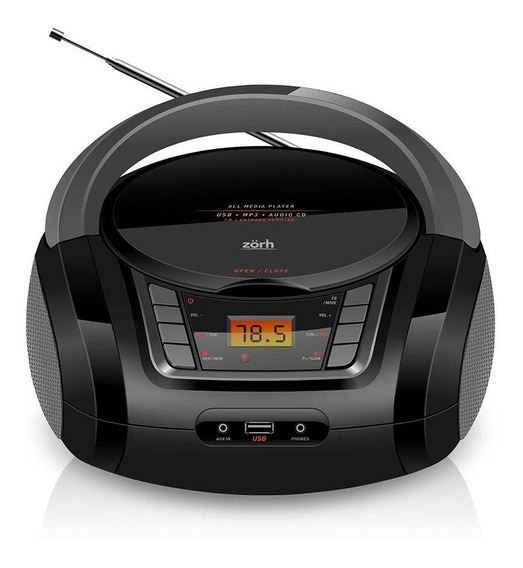 Radio Cd Player Com Mp3 E Usb Z01av Bivolt