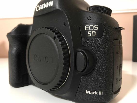 Câmera Canon Eos 5d Mark Iii - 2200 Cliques