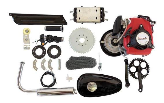 Kit Motor Bicicleta Motorizada 4 Tempos 49cc 5g Tbelt Drive