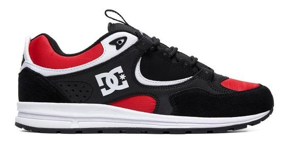 Tênis Dc Shoes Kalis Lite - Black Ard White - Black Friday