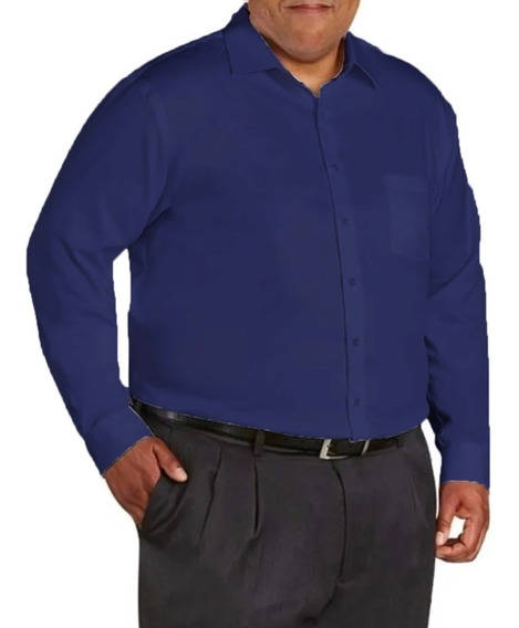 Camisa Social - Extra Grande / Plus Size