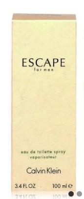 Perfume Escape For Men 100ml Calvin Klein - 100% Original