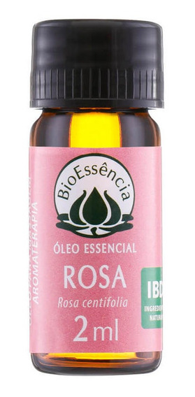 Óleo Essencial Natural De Rosa Marroquina 2ml Bioessência