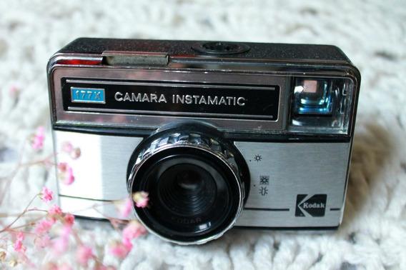 Câmera Fotográfica Kodak Instamatic 177x _ Analógica Vintage