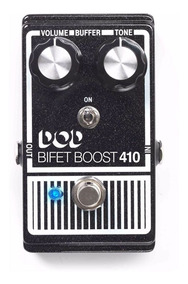 Pedal Para Guitarra Dod Bifet Boost 410 Boost Efeito.