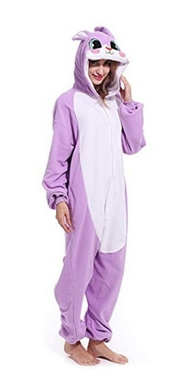Pijama Mameluco Pijama Mujer Conejo Unisex Kigurumi Adulto
