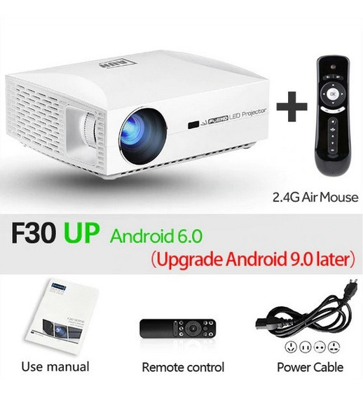 Projetor Full Hd, 3d, Aun F30up, Android 6, 12 X Sem Juros