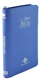 Biblia Misionera Reina Valera 1960 - Azul Con Forro