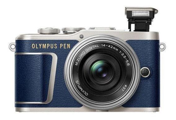 Câmera Olympus Pen E-pl9 14-42 Mm - Azul