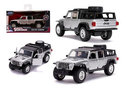 Jeep Gladiator Rápido Y Furioso Escala 1/24 Mide 22 Cm Larg