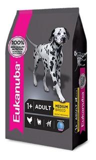 Eukanuba Adult Medium 15 Kg Solo Retira X Mr Dog