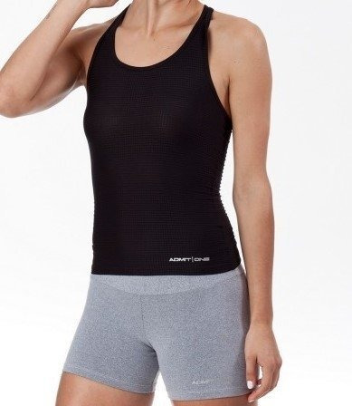 Admit One Musculosa Deportiva Riley Cuotas Sin Interes