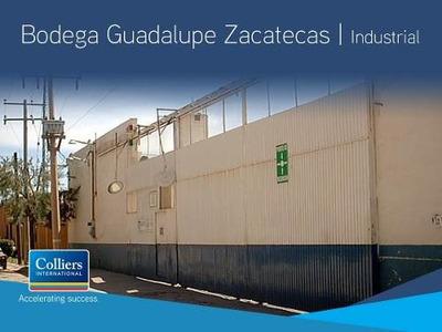 Bodega Industrial Disponible Para Venta, Guadalupe Zacatecas