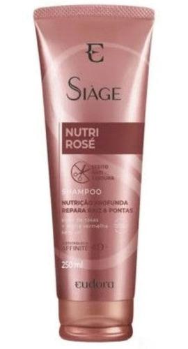 Shampoo Siàge Nutri Rosé 250ml - Eudora