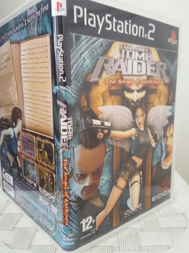 Ps2 Tomb Raider The Of Darkness Para Playstation 2 - Patch