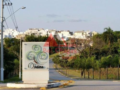 Terreno À Venda, 300 M² Por R$ 255.000,00 - Condomínio Chácara Ondina - Sorocaba/sp - Te0207