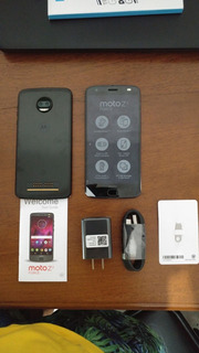 Motorola Moto Z2 Force Nuevo En Caja Libre Super Negro Eftv