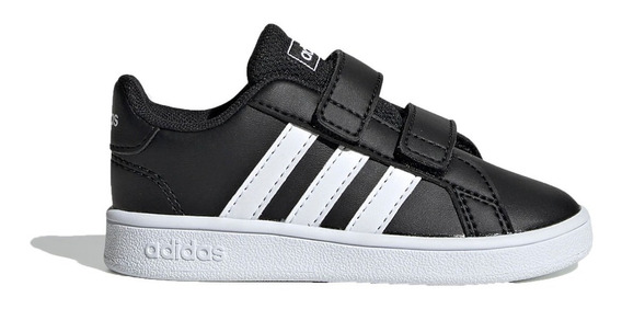 adidas Zapatillas Lifestyle Niño Grand Court Negro - Bco