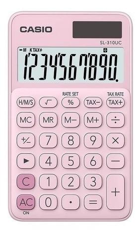 Calculadora Casio Sl-310uc-pk Rosa