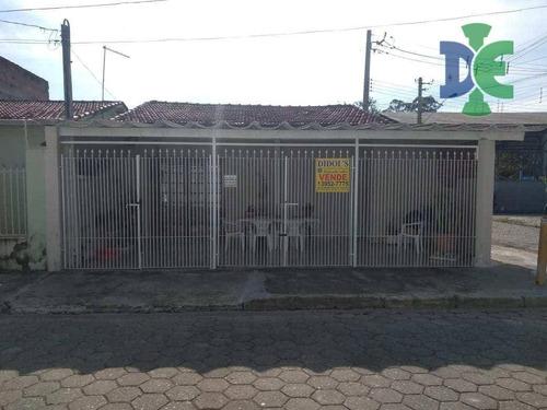 Casa Com 2 Dormitórios À Venda, 96 M² Por R$ 260.000,00 - Jardim Siesta - Jacareí/sp - Ca0025