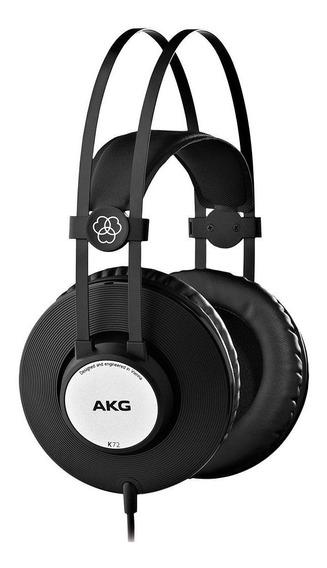 Fone De Ouvido Akg K72 Home Estudio Beat Maker