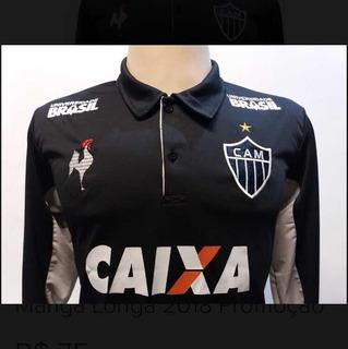 Camisa Atlético Mineiro Manga Longa