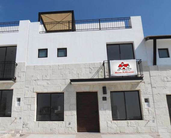 Casa En Renta En El Refugio, Queretaro, Rah-mx-20-889