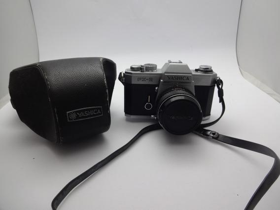 Yashica Camera Fx -2 Lentes 1: 1:1.9