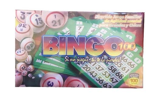 Bingo Familiar Juego De Mesa Divertido