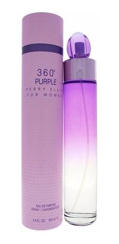 Perfume Original 360 Purple De Perry Ellis Para Mujer 200ml