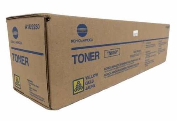 Toner Original Konica Amarelo Tn-616y C-6000 E C7000