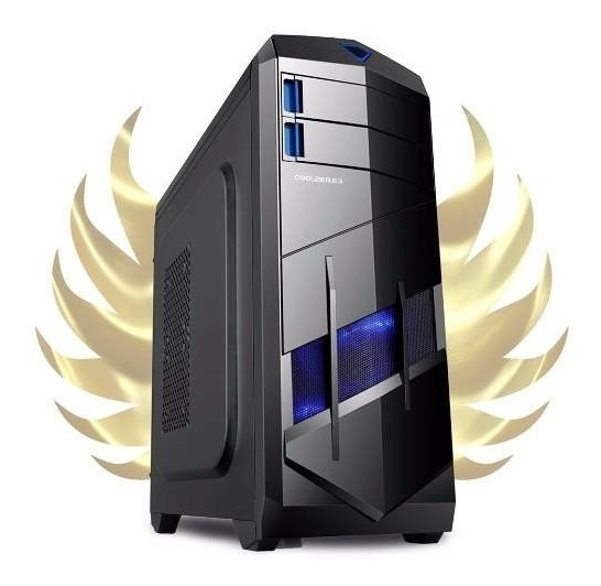 Pc Gamer Completo Amd A4 4.0ghz, 8gb , 18.5