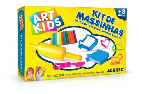 Massinha De Modelar Art Kids 2 Acrilex - 40002