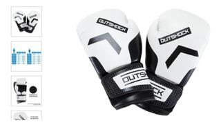 Luva De Muay Thai Box 300 Branco Mike Tyson