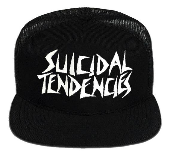 Boné Aba Reta Suicidal Tendencies - Logo