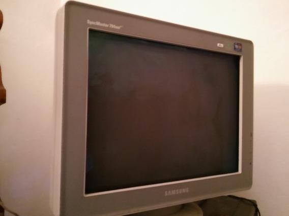 Samsung Syncmaster 794mb Plus + Adaptador Vga A Hdmi