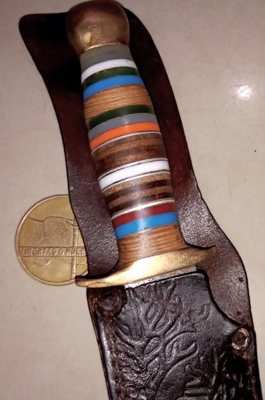Antiguo Cuchillo Bowie Acero Carbono. Daga. Facón. Bayoneta.