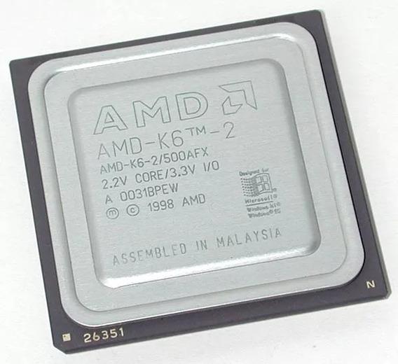 Processador Amd K6-2 500 Mhz