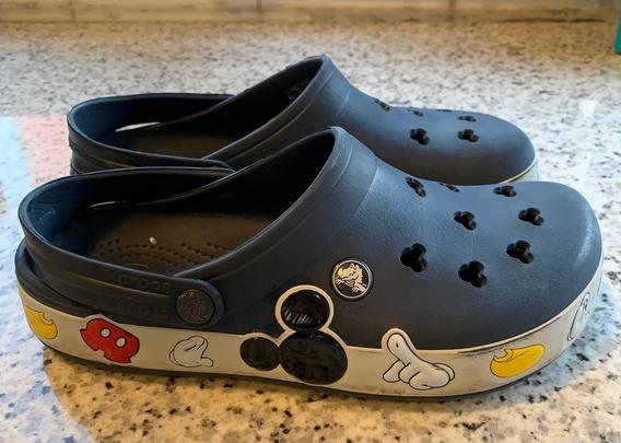 Crocs Original Mickey Azul (usado)