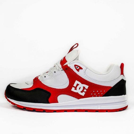 Tênis Dc Shoes Kalis Lite Adys100291-xkwr Barnco/vermelho
