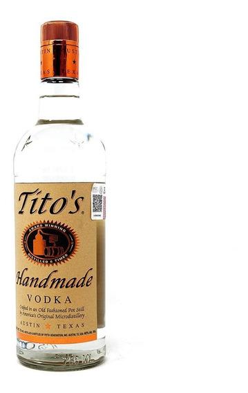 Vodka Titos Handmade Botella 750 Ml